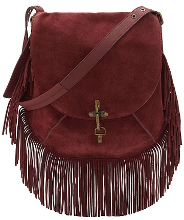 Maya Shoulder Bag with Fringe