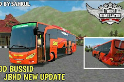 Mod  Bus JB HD ( Jetbus HD ) Terbaru Bussid