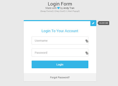Login Form Templates HTML CSS3 - دروس4يو Dros4U
