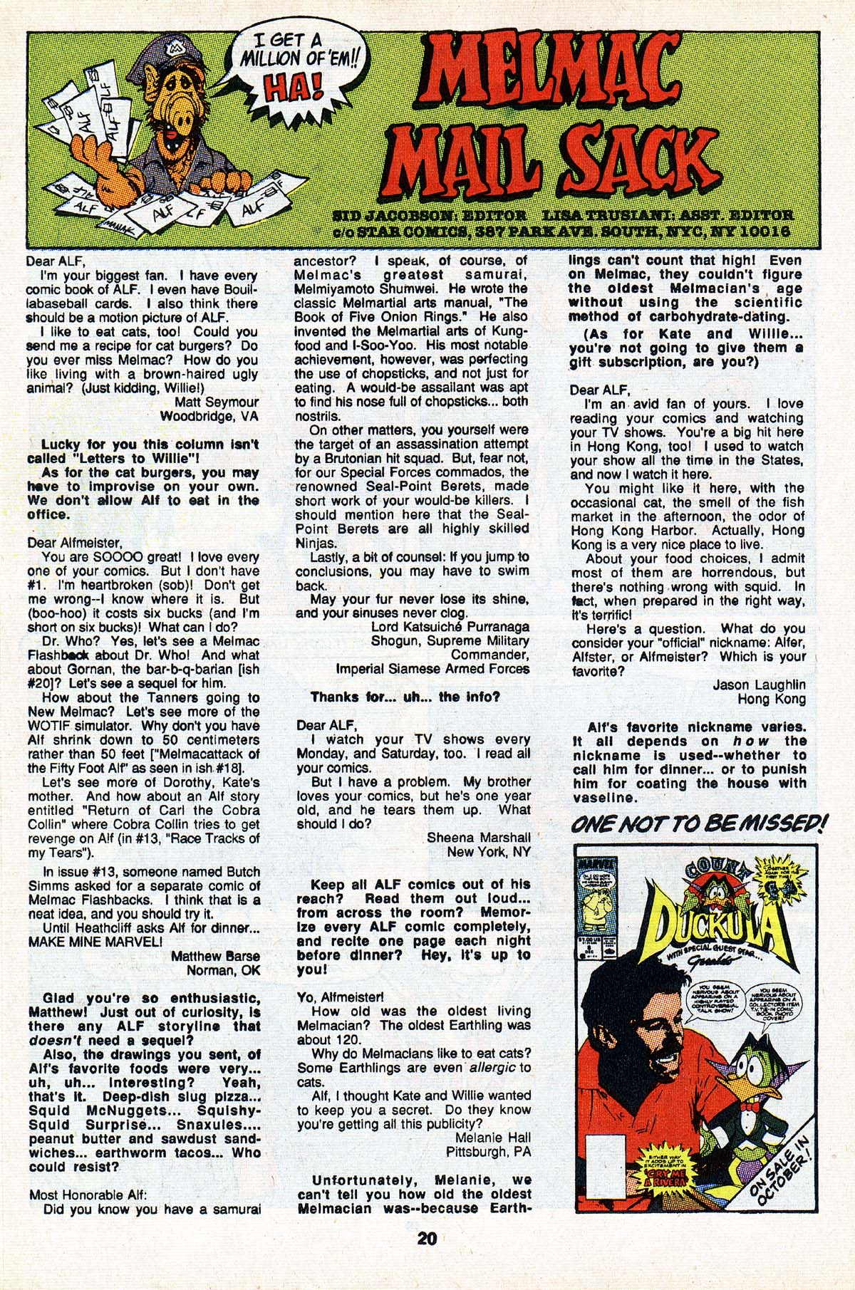 Read online ALF comic -  Issue #23 - 17