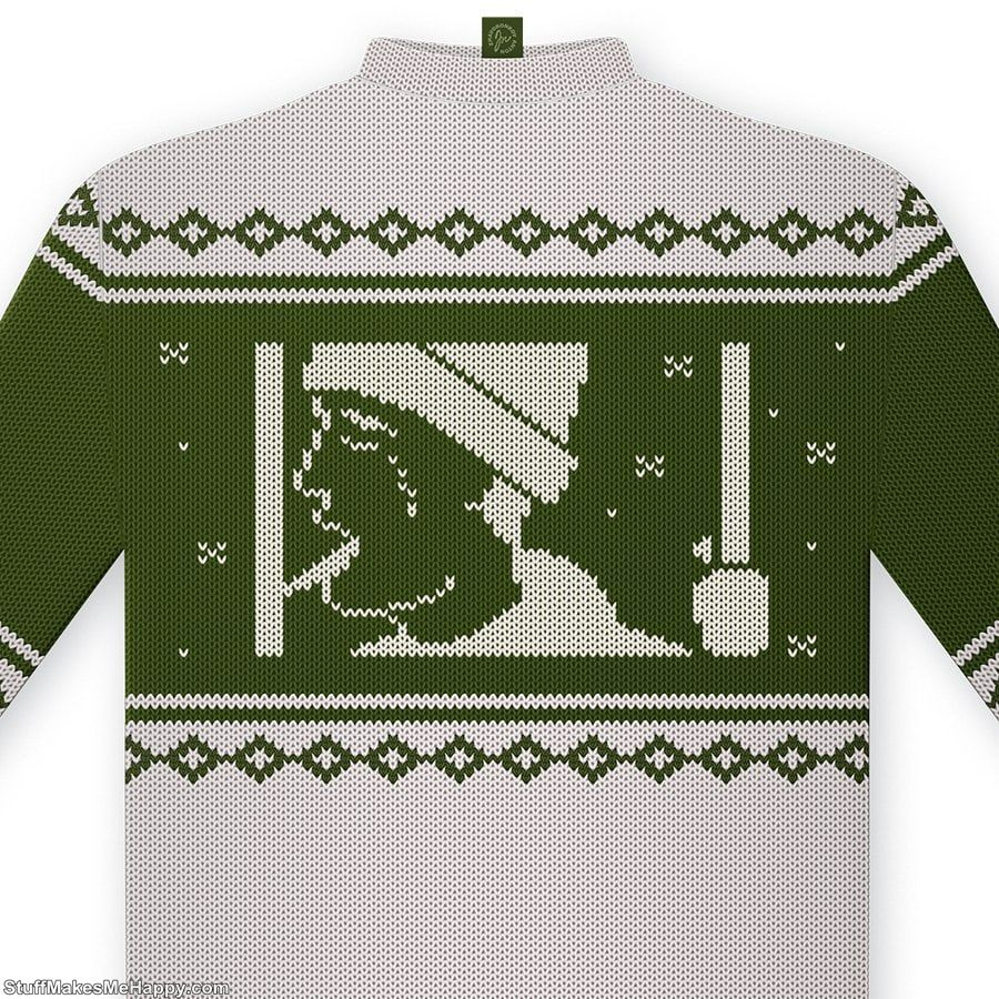 Bonus! This is still only a concept, but what sweater with deer 21st century - a project illustrator Anton