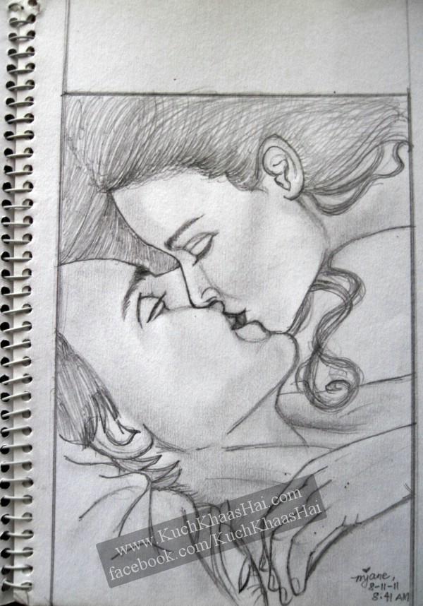 Romantic Pencil Sketches | Kuch Khaas Hai...