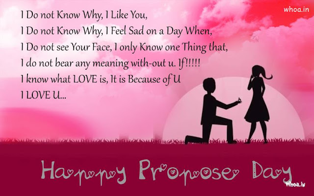 Propose Day Message Wishes Quotes SMS