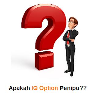 Apakah IQ Option Penipu? Apakah IQ Option Curang