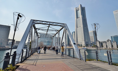 Kishamichi Promenade Yokohama Tempat Jalan Santai Jepang