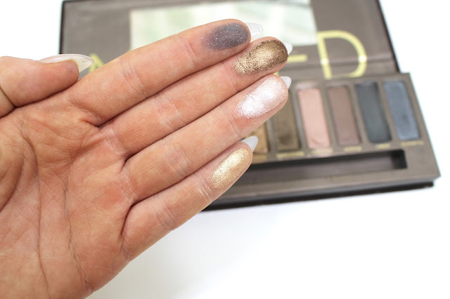 Urban Decay, Naked and Swatches