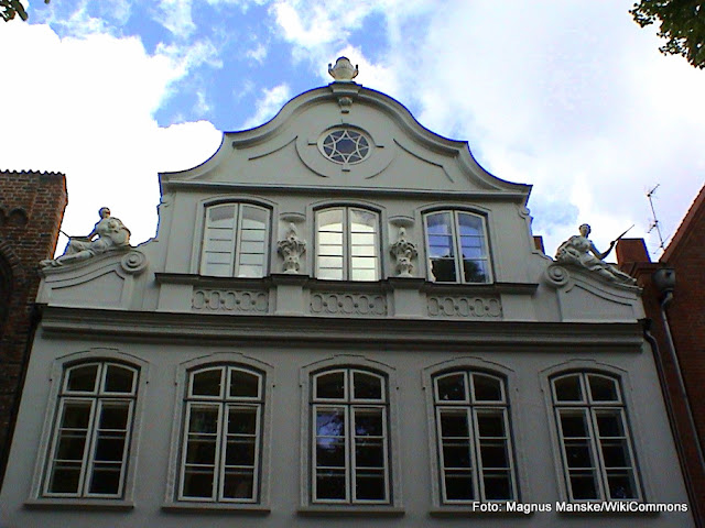 Buddenbrookhaus, Casa museu do Thomas Mann, em Lübeck, Alemanha
