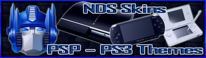 NDS Skins / PSP y PS3 Themes Nintendo-DS / Sony-PSP y PS3