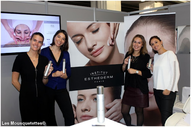 Institut Esthederm - Beauty Forum Paris - Blog beauté Les Mousquetettes