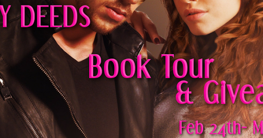 Dirty Deeds by A.J. Nuest ❤️ Book Tour & Giveaway ❤️ (Romantic Suspense)