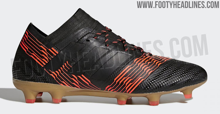 Black   Solar Red   Tactile Gold Metallic  Adidas Nemeziz 17 ... c2d3d1fc5