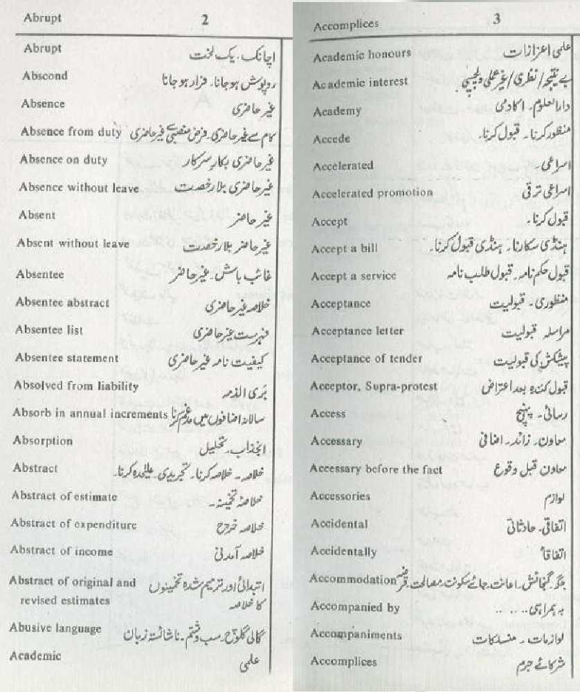 urdu to urdu dictionary free download pdf