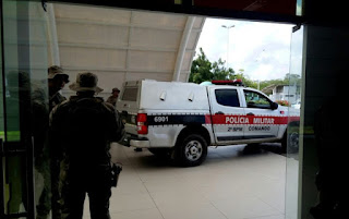 Grupo suspeito de ataques a bancos é preso após tiroteio em Campina Grande