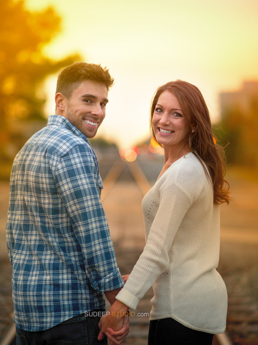 Best Fall Engagement Photography session in Royal Oak - Sudeep Studio.com Ann Arbor