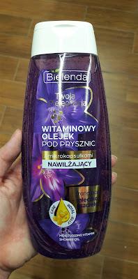 Bielenda witaminowy olejek pod prysznic z mikrokapsułkami nawilżający