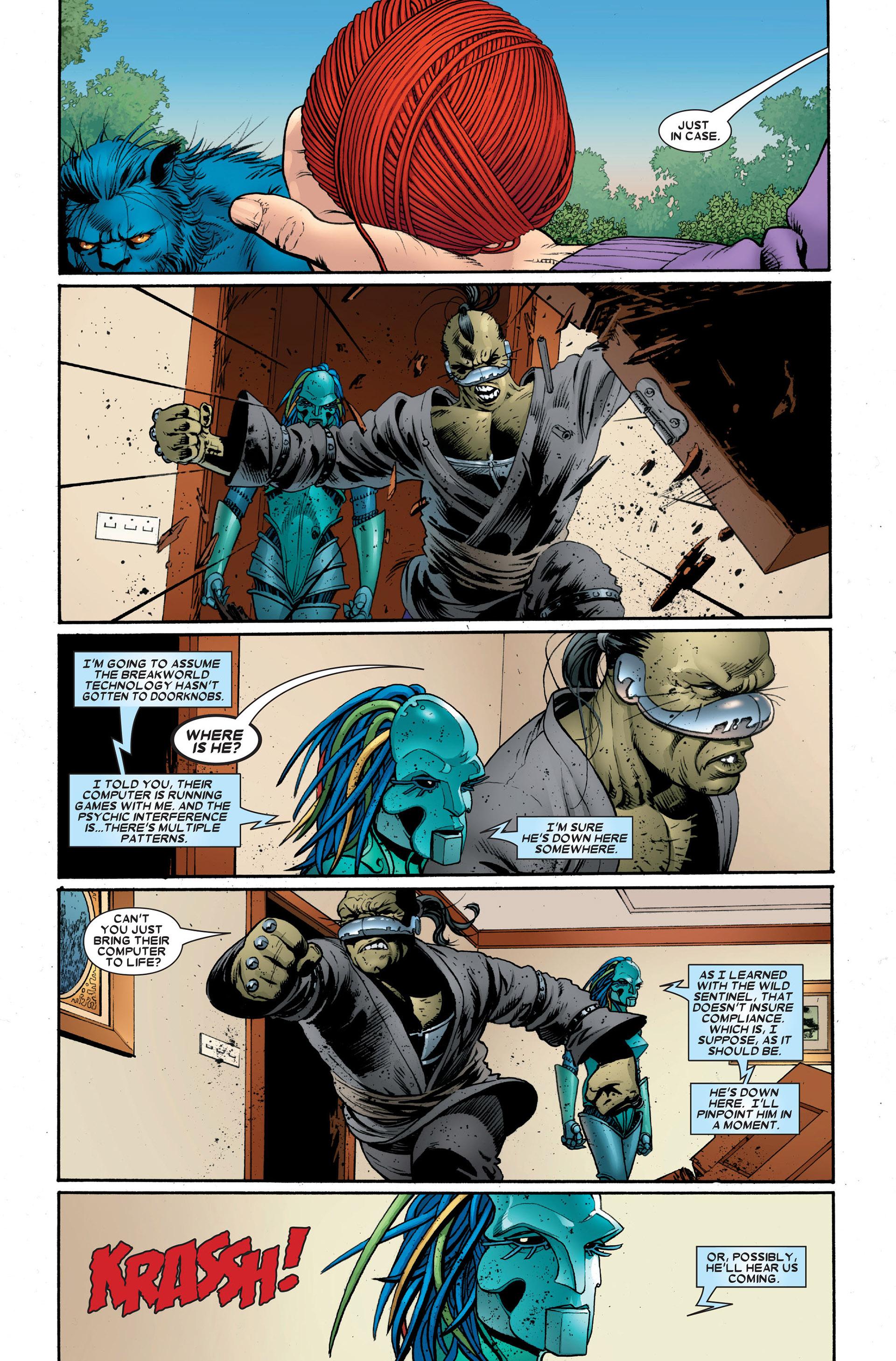 Read online Astonishing X-Men (2004) comic -  Issue #18 - 7