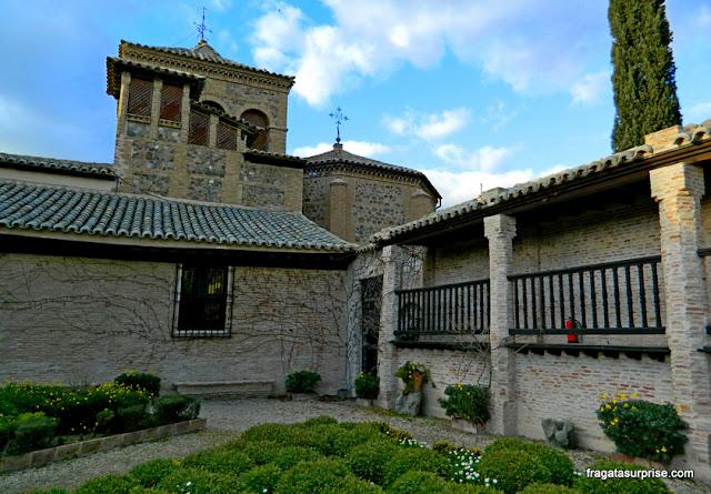 Jardim do Museu Casa de El Greco, Toledo, Espanha