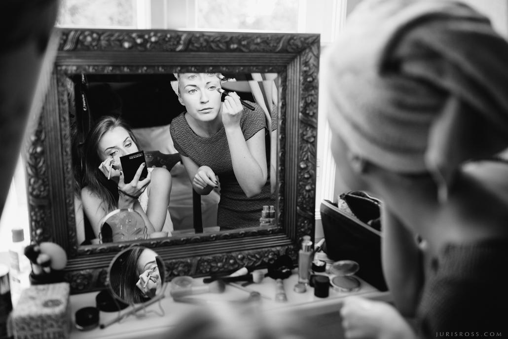 līgavas grims spoguļi draudzene