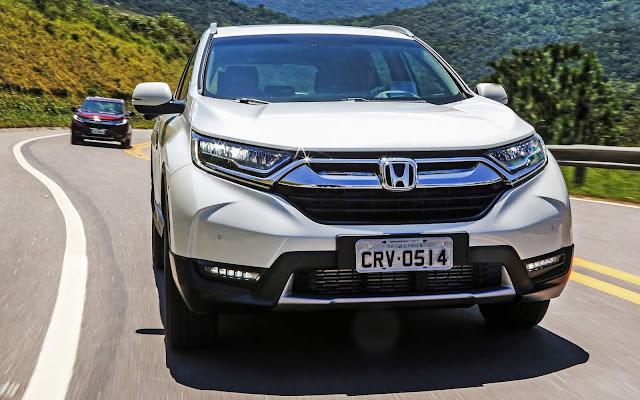 Honda CR-V 2018 tem aumento de R$ 9 mil