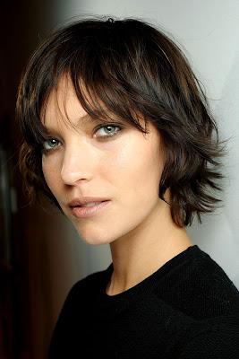 Peinados para Pelo Corto con Flequillo Mujer Tendencias