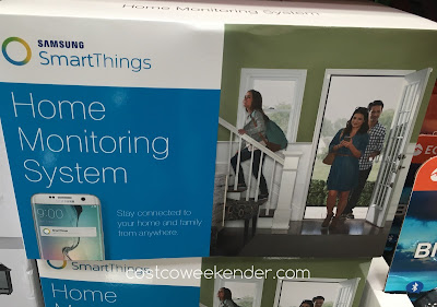 Know what's going on in your home when you're away with the Samsung SmartThings Home Monitoring System