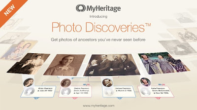 MyHeritage Launches Photo Discoveries™