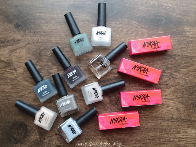 Nykaa So Matte Lipstick and Matte Nail Polish