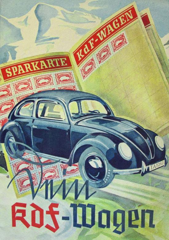 Volkswagen Advertising 1938