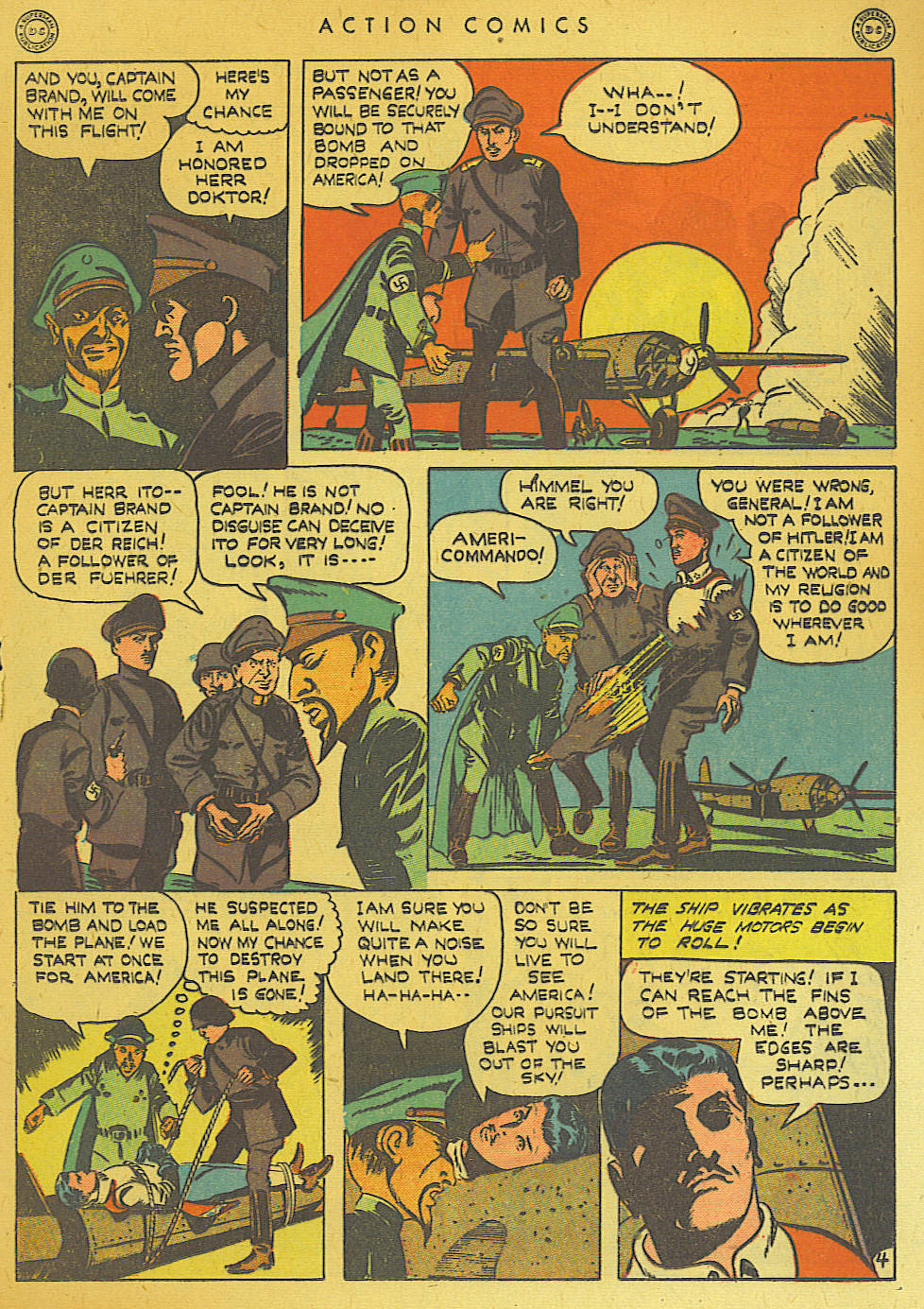 Read online Action Comics (1938) comic -  Issue #74 - 43