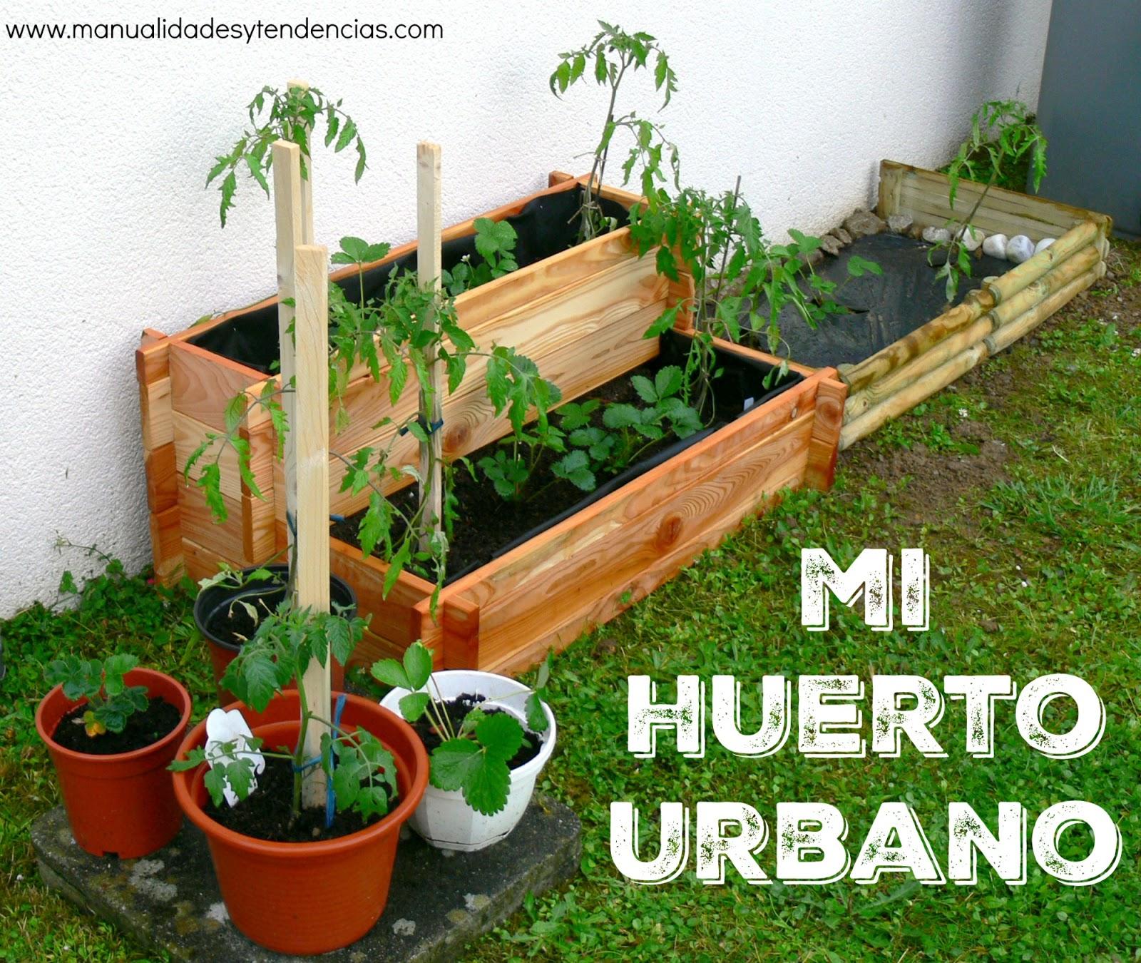 Manualidades y tendencias c mo hacer un huerto urbano for Como hacer una terraza techada