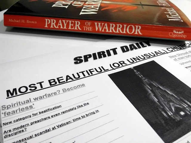 "A photo of Michael H. Brown's book, ""Prayer of The Warrior"""