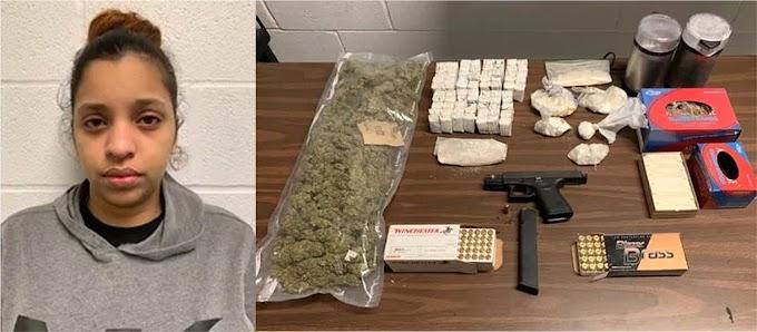 Detienen dominicana acusada de tener laboratorio de drogas en su casa de NJ y una pistola robada