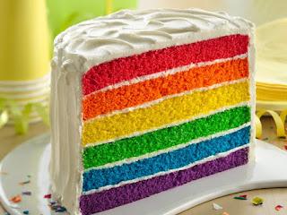Rainbow Cake Manis