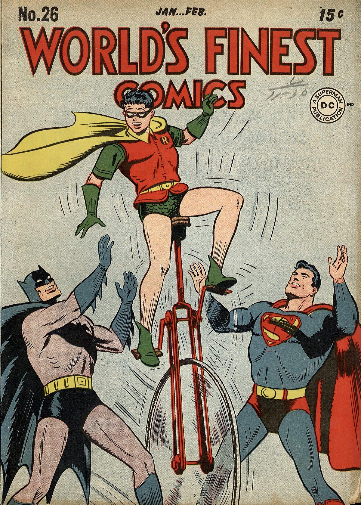 Read online World's Finest Comics comic -  Issue #26 - 1