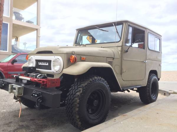1973 Toyota Landcruiser FJ40 With New Engine