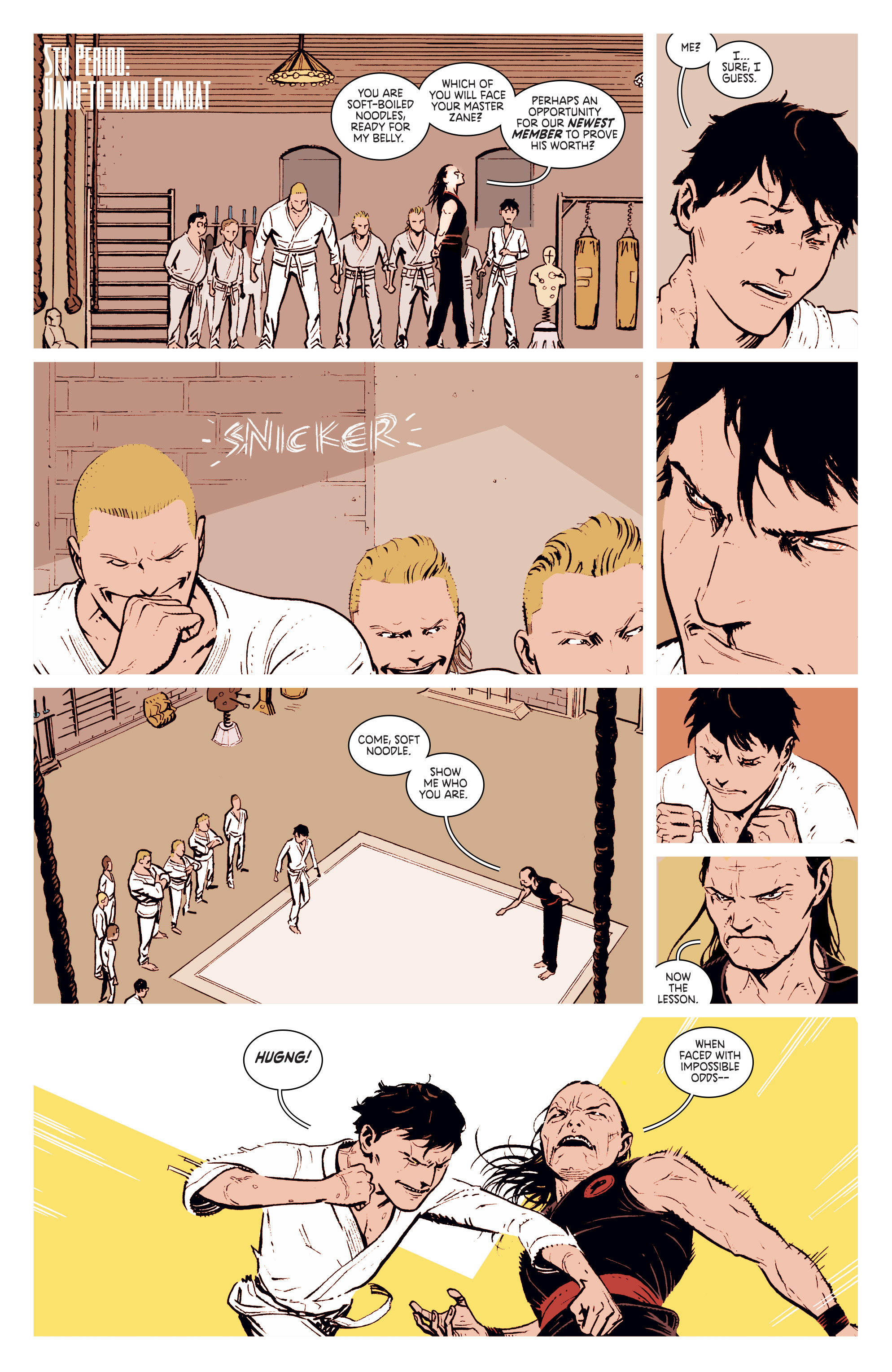 Read online Deadly Class comic -  Issue #2 - 16