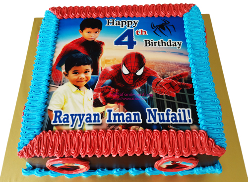 Birthday Cake Spiderman