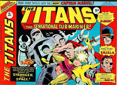Marvel UK, The Titans #19, Sub-Mariner