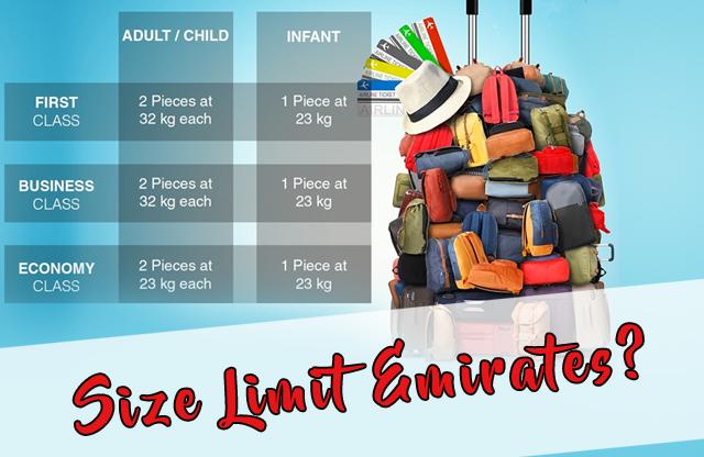Saiz Dan Berat Beg Yang Dibenarkan Kat Emirates Airlines