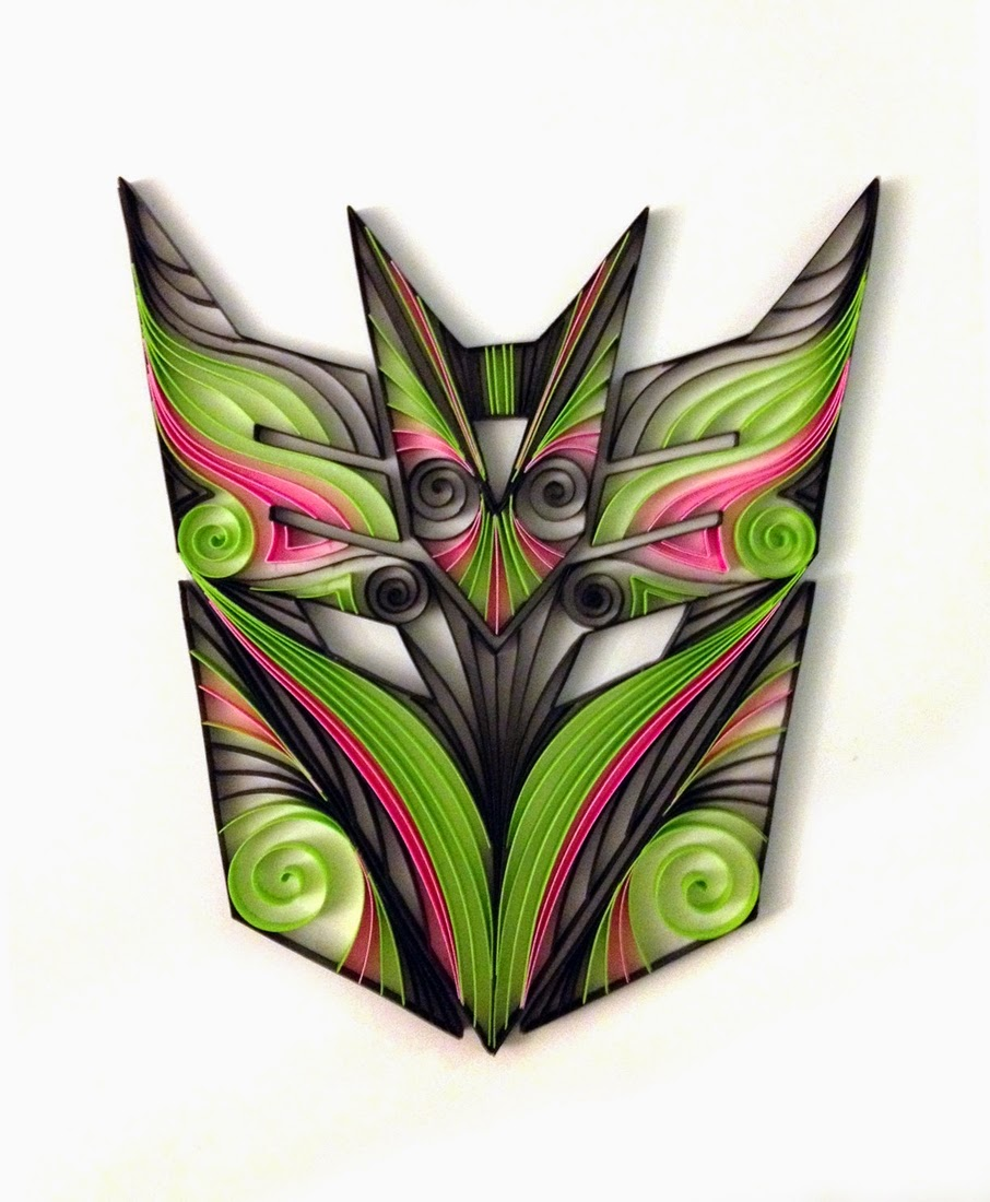 11-Transformers-Decepticons-Mask-Alia-AliaDesign-Sci-Fi-and-Superhero-Paper-Quilling-www-designstack-co