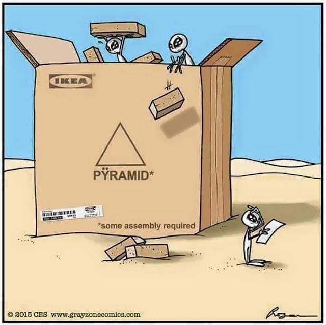 Extraterrestres construyeron las pirámides de Egipto