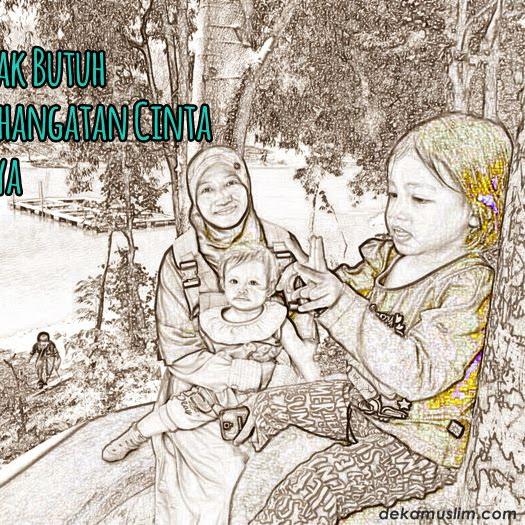 Anak-anak Butuh Sepaket Kehangatan Cinta dari Ibunya