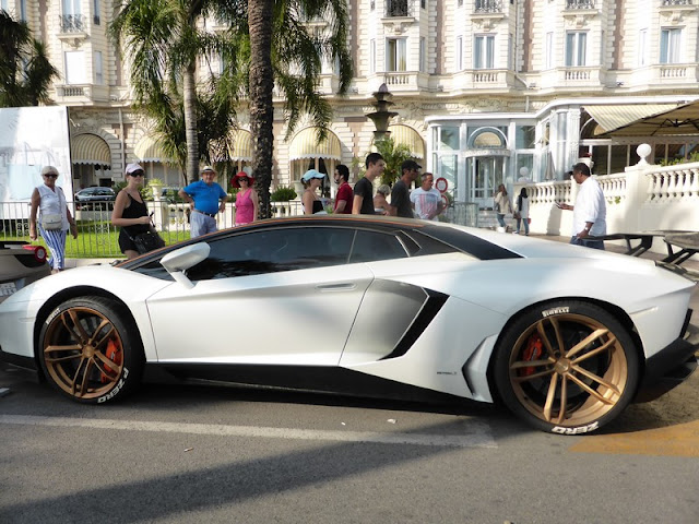 Cannes, coches de lujo