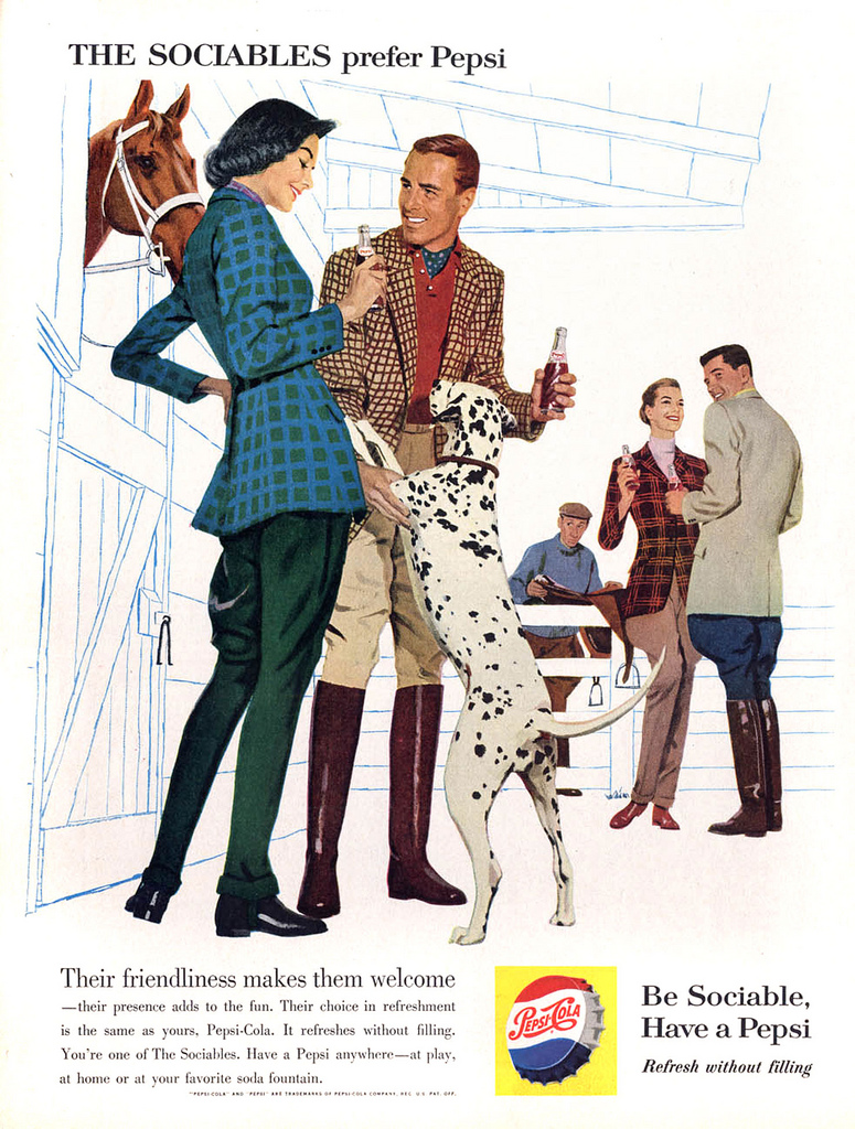 Pepsi Advertising Campaigns Of The 1950s