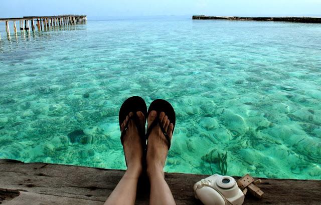Membakar Kulit di Kepulauan Seribu Paket Honeymoon Traveloka bening evoketourandtraveldotcom