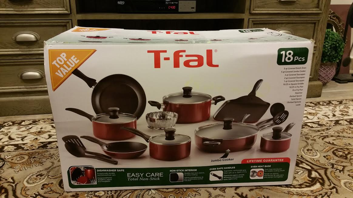 Best Dishwasher Safe Nonstick Cookware Set s a p p h i r e m i n i s t o r e: Tefal / T-fal ...