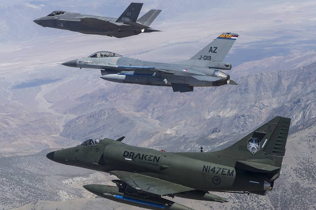USAF selects Draken aggressor service contract