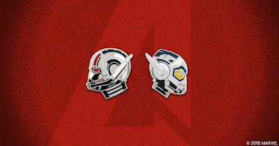 Ant-Man and The Wasp Portrait Enamel Pins by Matt Taylor x Mondo