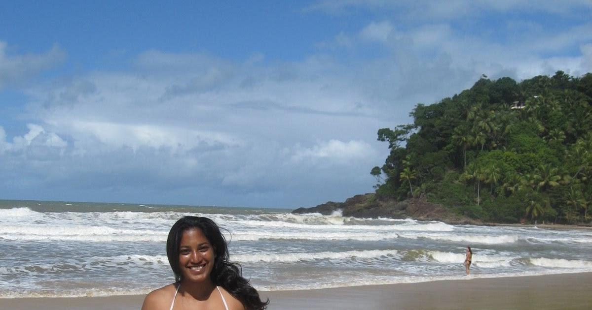 Hot and Sexy Desi Indian Girl in Bikini On a beach in ...