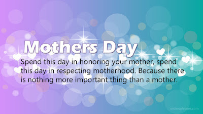 Happy mother's Day in English Message_uptodatedaily